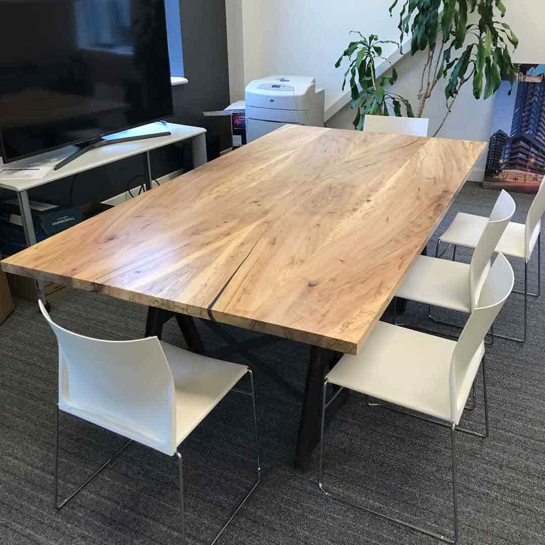 Live Edge Table for Boardroom