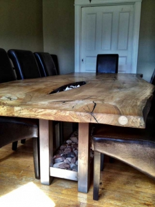 live edge dining table_119