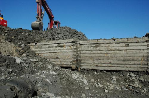 queens wharf timbers salvaged